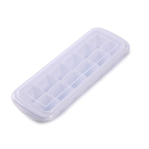 Ice Cube Trays - Easy Release Ice Cube Tray - White