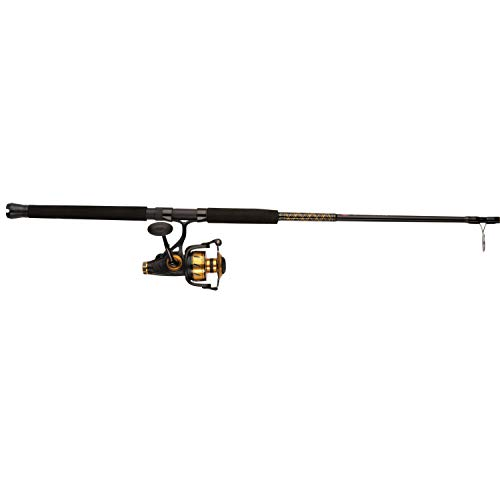 - Penn, Spinfisher VI Live Liner Saltwater Combo, 6500, 5.6:1 Gear Ratio, 7' Length 1pc, 15-30 lb Line Rating, Ambidextrous