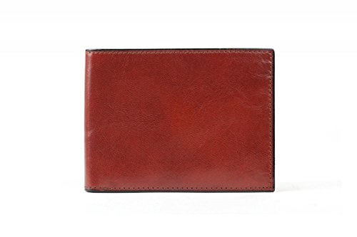 Bosca Men's Old Leather Collection-Continental ID Wallet, Cognac, One Size from Bosca