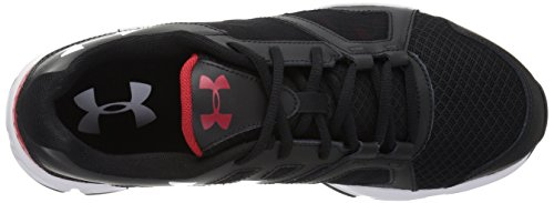Under Armour Zone 2 Sneaker - black w red top