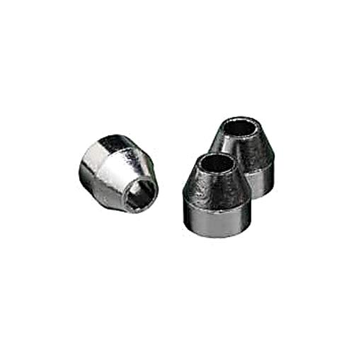 60/% Vespel//40/% Graphite 0.8 mm ID RESTEK 20246 Two-Hole Ferrules for 1//8 and 1//16 Compression-Type Fitting Pack of 5 Vespel//Graphite