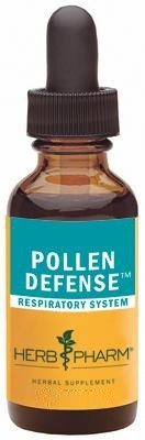 Herb Pharm Pollen Defense Liquid Herbal Formula for Respiratory System Support - 4 Ounce