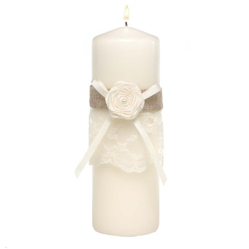 Hortense B Hewitt Rustic Country Unity Candle (Rustic Country Candle Wrap)