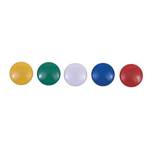 Asst Magnets - Staples 1807429 Assorted Magnets Asst. Colors 30/Pk