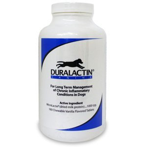 Duralactin Canine, 180 Vanilla Chewables by Duralactin Canine 180 Vanilla Chewables