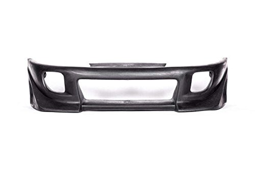 Mitsubishi Eclipse 1995-1999 (Eagle Talon 1995-1998) Blits Style 1 Piece Polyurethane Front Bumper made by KBD Body Kits. Extremely Durable, Easy Installation, Guaranteed Fitment and Made in the (Bumper Installation Kit)
