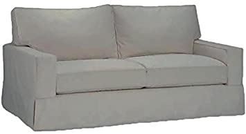 The Cotton Sofa Cover Only Fits Pottery Barn PB Comfort Square Arm Sofa. A  Durable