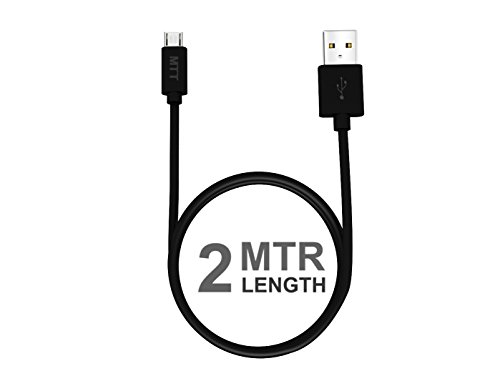 2M Micro usb Black Cable by MTT