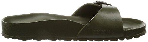 Birkenstock Madrid EVA Narrow Fit - Khaki 128253 (Green) Womens Sandals 38 EU by Birkenstock (Image #7)