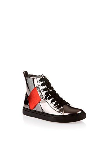 ARMANI JEANS Sneaker Stivaletto Vernice Metallizzato 6A514