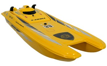 Predator 2 RC 1/25 Racing Boat Mosquito Craft R/C Catamaran ()