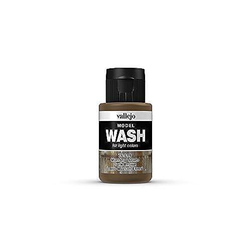 Vallejo Dark Brown Wash 35ml Chic