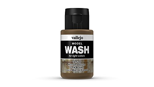 Vallejo Dark Brown Wash, 35ml (Wash Acrylic)