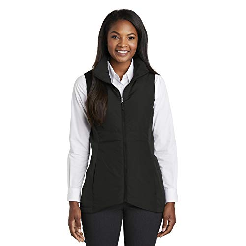 Port Vest Authority Womens (Port Authority Women's Collective Insulated Vest, Deep Black, Medium)