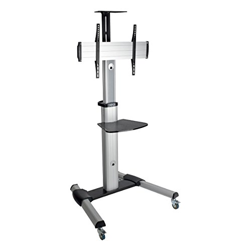 Monitor Standard Floor (Tripp Lite Mobile TV Monitor Flat-Panel Floor Stand Cart Height-Adjustable LCD 32-70
