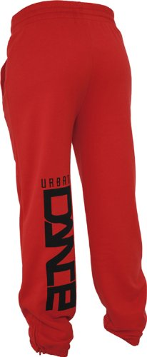 Urban Classics Dance Jogging Pant Rojo - rojo, negro