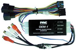 PAC Premium Amplifier Add-On/Replacement Radio Sound System Interface Kit GM - PAC AOEMGM1416 (Harness Interface Onstar)