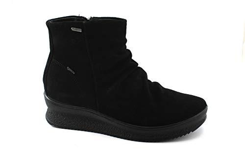 Nero 2166911 Suede Bottes Zip Chaussures Gore amp;Co Igi Femme tex Noire FAvAwq