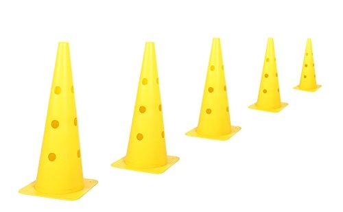2255384-Kerbl-Cone-Three-Agility-Hurdle-Set-Giallo miniatura 3