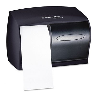 Kimberly-Clark 09604 Professional Coreless Double roll Tissue Dispenser, Smoke
