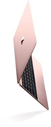 "Apple Z0TE0LL/A Macbook (Early 2016) 12"" Laptop, 226ppi Retina Display, Intel Core M5-6Y54 Dual-Core, 512GB PCI-E Solid State Drive, 8GB DDR3, 802.11ac, Bluetooth, MacOS 10.11 El Capitan - Rose Gold"