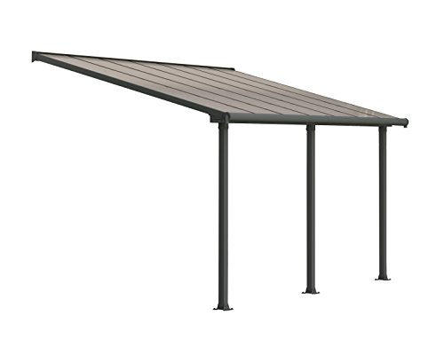 - Palram HG8814 Olympia Patio Cover, 10' x 14'