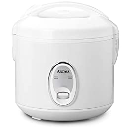 Aroma Housewares 8-Cup (Cooked) (4-Cup UNCOOKED) Cool Touch Rice Cooker (ARC-914S)