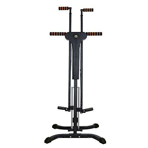 Rxlife Vertical Climber Cardio Exercise Folding Climbing Machine for Home Gym Step Climber Exercise Fitness Upgraded 2.0