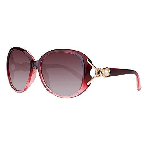 lunettes polarisées Lunettes soleil Retro Soleil Sport de Des Femme Star de E Nouvelles 6apCdC