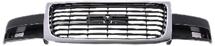 OE Replacement GMC Savana/Van Grille Assembly (Partslink Number GM1200532)