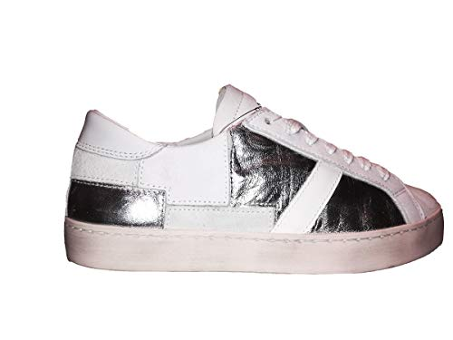 D t a Date Sneakers White Low Hill e Donna Patch rT76xw5qr