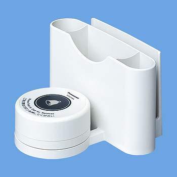 パナソニック ECE3723W 小電力型ワイヤレスサービスコール卓上発信器(メニュースタンド付)(ホワイト)   B07G4RFPY5