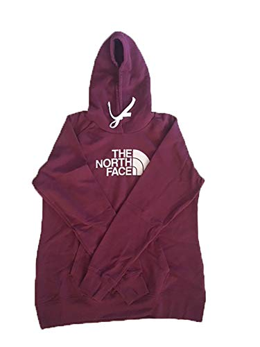 Print North The Jersey Face - The North Face Womens Half Dome Hoodie - Garnet small