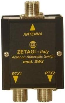 Zetagi SW-2 - Conmutador automático de Antena (15-50 MHz)
