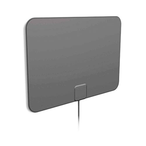 1byone Outdoor Radio Antenna, High Gain Omnidirectional FM Reception Antenna with Round Dipole Design- FM Antenna