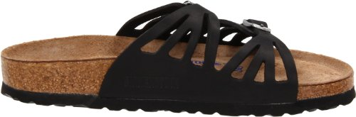 Birkenstock Women's Granada Soft Footbed Sandal,Black Oiled Leather,39 N EU by Birkenstock (Image #6)