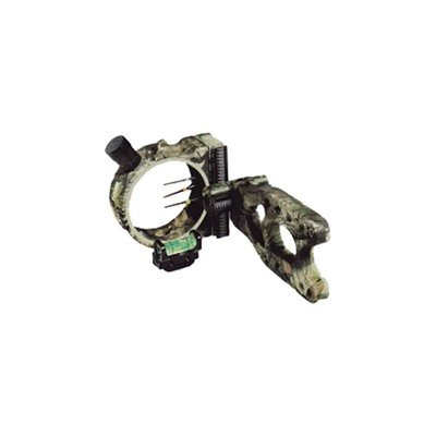 Fiber Glo Pin Sights - PSE Aries Three .029 Pin Camo Bow Sight, Mossy Oak Breakup Infinity
