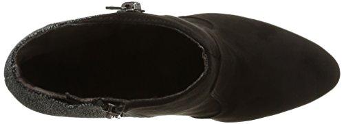 Tamaris 25343 - botas de material sintético mujer negro - Schwarz (schwarz, metallic (BLACK COMB098))