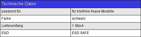 AOYUE Ersatzteil 2900//2901 L/ötkolbenhandgriff Bleifrei