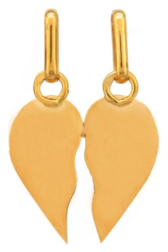 Lucas Lucor - P1441L : Pendentif Femme Or 18K jaune - Coeur