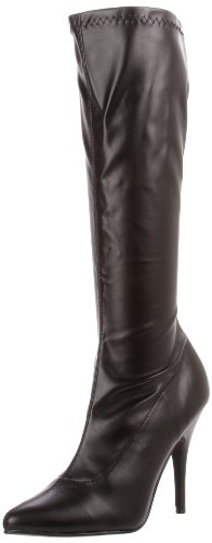 Pleaser Sed2000/B/Pu, Women's Ankle Boots Blk Str Faux Leather