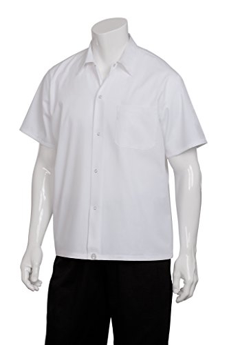 Cotton Utility Shirt Patch (Chef Works Men's Utility Shirt (SHYK))