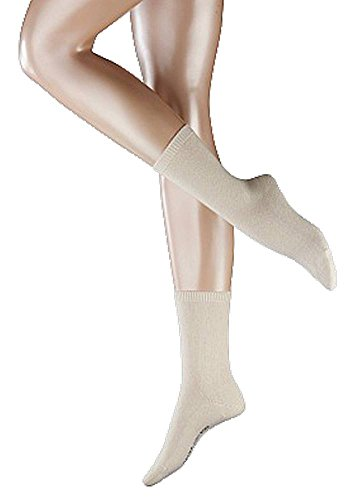 Falke Womens Cosy Wool Socks - Camel Brown - Medium/Large
