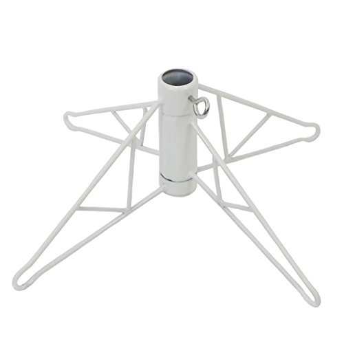 Vickerman White Metal Christmas Tree Stand For 12' - 15' Artificial Trees