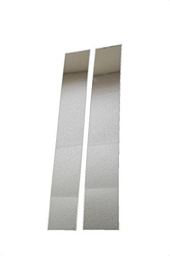 Pickup Stainless Pillar Posts (Putco 402621 Classic Decorative Pillar Post without Accent)