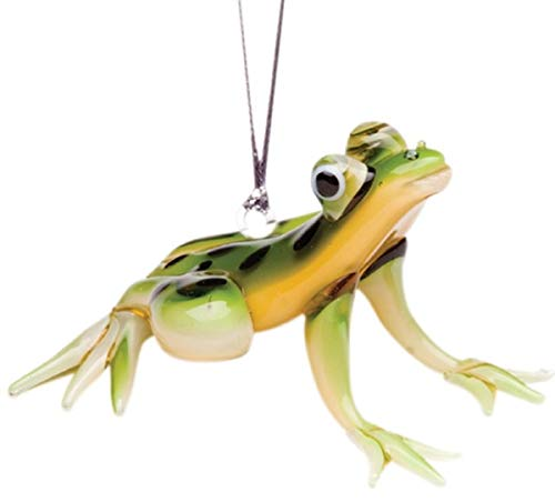 (Dynasty Gallery Glassdelights Glass Spotted Tree Frog Hanging Ornament 26813 3 Inches)
