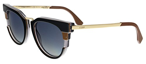 Amazon.com: Fendi Art Deco Cateye FF 0063/S MVB 50 - Gafas ...