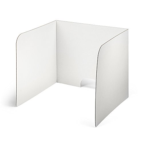 (Classroom Products Computer Privacy Shield 24 Inch Tall - White - (Pack of 20))