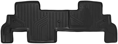 MAXLINER Floor Mats 2nd Row Liner Black for Traverse/Enclave / Acadia/Outlook (with 2nd Row Bench Seat)