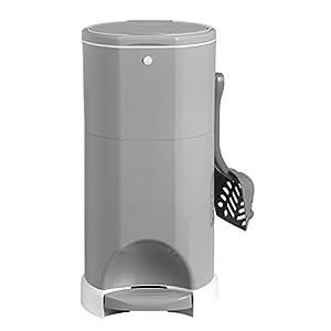 Litter Champ Premium Odor-Free Cat Litter Disposal System, Grey 118